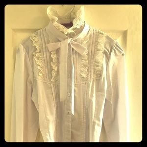 Tops - Steampunk blouse never been worn !!!